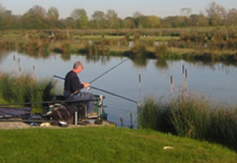 Fishing holidays in the Cotswold Water Park